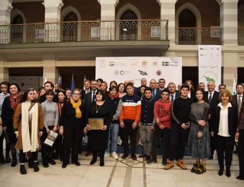 "The Awards Ceremony – The Contest ""Clean Region"" Winners"