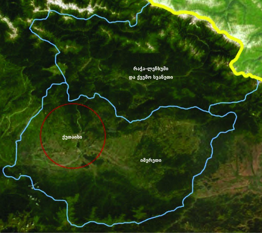 რეგიონების რუკა