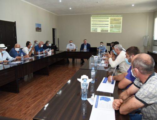 Public hearings were held in the Imereti region