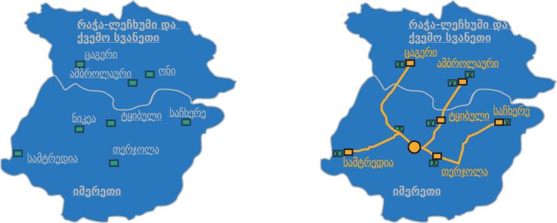 იმერეთი რუკა