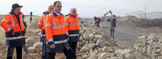 Opening of Telavi municipal landfill თელავის კეთილმოწყობილი მუნიციპალური ნაგავსაყრელი