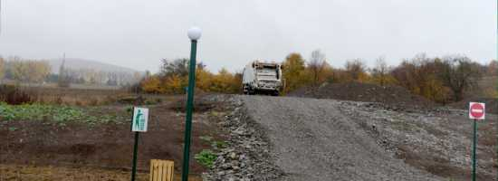 A Renovated Municipal Landfill of Tianeti თიანეთის განახლებული ნაგავსაყრელი