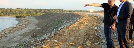 Davit Shavliashvili and Giorgi Shukhoshvili's visit to the municipal landfills of Kutaisi and Zugdidi დავით შავლიაშვილი და გიორგი შუხოშვილი ქუთაისისა და ზუგდიდის განახლებულ მუნიციპალურ ნაგავსაყრელებზე
