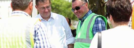Ongoing rehabilitation works on the municipal landfill of Foti ფოთის მუნიციპალურ ნაგავსაყრელზე კეთილმოწყობის მიმდინარე სამუშაოები